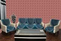 Chenille sofa cover activa