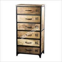 INDUSTRIAL CHEST OF 6 DRAWERS