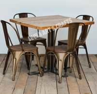 Industrial Dining Table Set