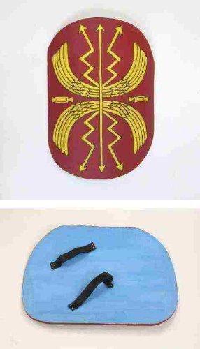 Roman Shield Red