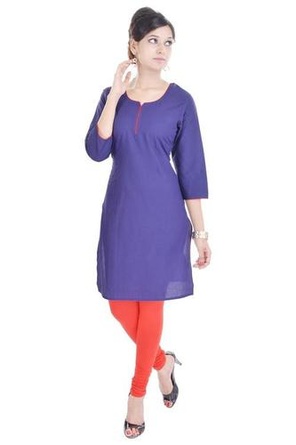 Solid Colored kurti