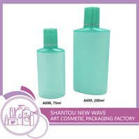 Plastic Packaging of Cosmetic Sectors Empty Cream Bottle with Screw Cap