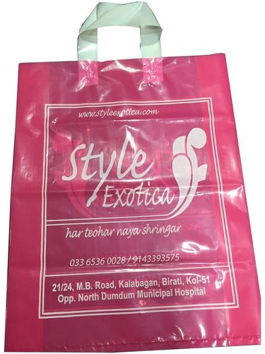 LDPE Loop Handle Shopping Bag