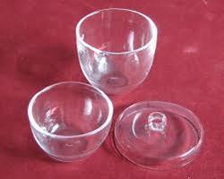Crucible Borosil Glass