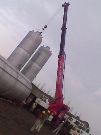 Storage Tank Erection Services