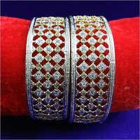 Designer Diamond Gold Bangle
