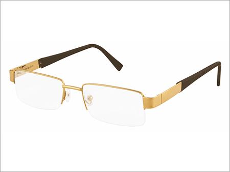 Half Rim Gold Eyewear