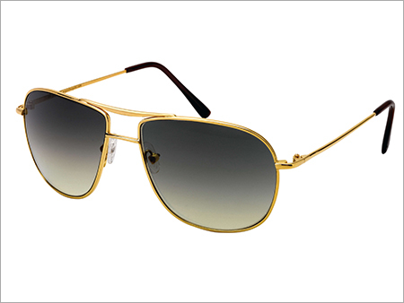 Designer Gold Sunglasses Frame