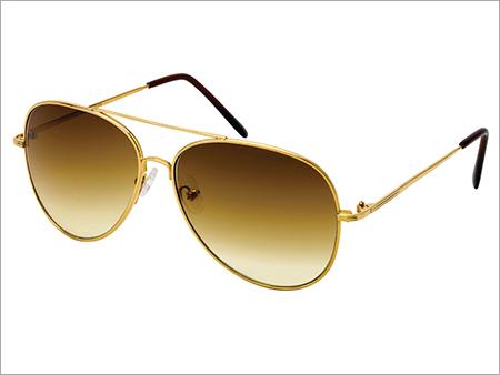 Round Gold Sunglasses Frame