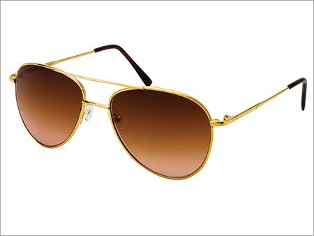 Aviator Pure Gold Sunglasses Frames