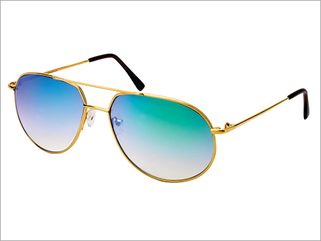 Led Gold Sunglasses Frame
