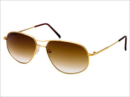 Gold Sports Sunglasses Frame