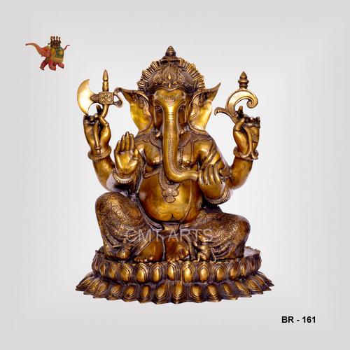Brass Ganesha