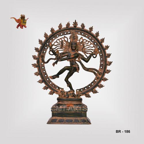 Brass Natraj / Dancing Shiva