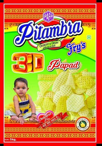 Custom 3D Papad