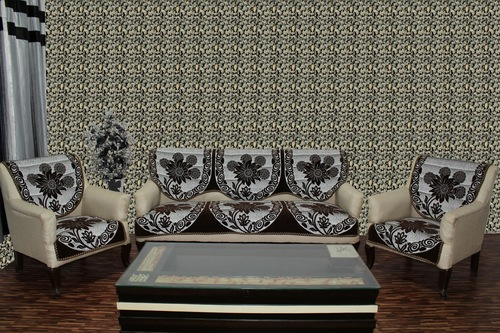 Chenille Sofa Panel Rangoli