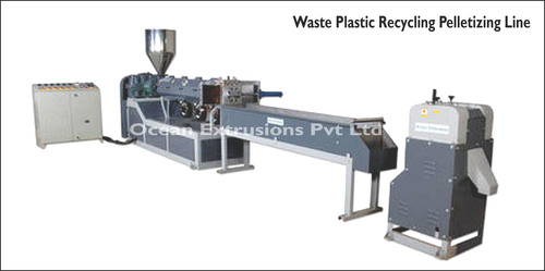 Waste Plastic Recycling Pelletizing Line
