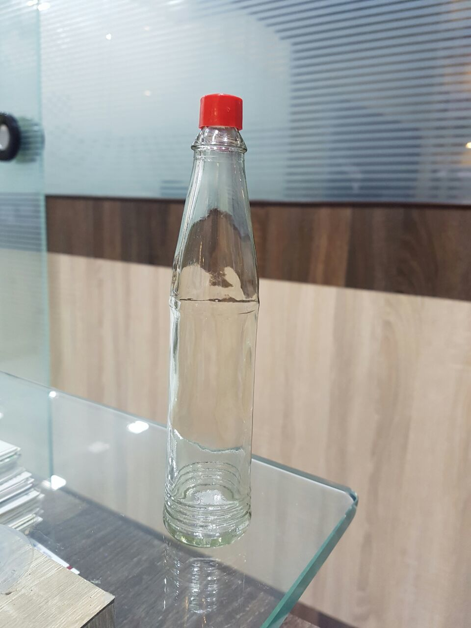 Ketchup Glass Bottle