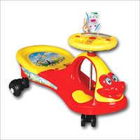 Swing Magic Musical Car Red & Yellow Color