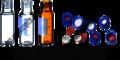 Screw Top Vials with Blue Screw Cap & PTFE Septa
