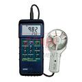 High Temperature CFM Metal Vane Anemometer