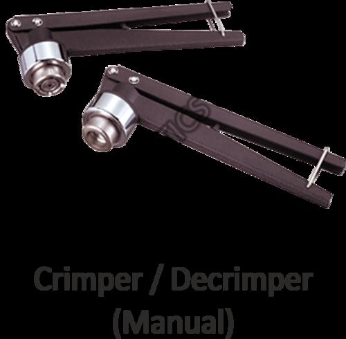Vial Crimper and Decrimper (Manual)