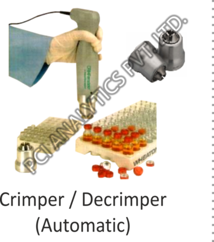 Vial Crimper and Decrimper (Automatic)