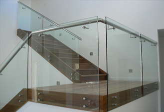 Stainless Steel Glass Handrails