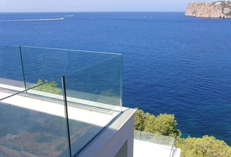 Glass Handrails