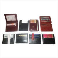 Finished Leather Credit Card Holder