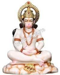 Marble Mediation Hanuman Murti