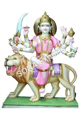 Marble Ganga Maa Statues