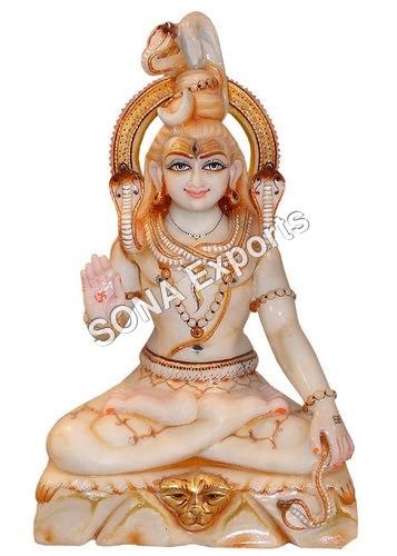 White Shiv Statue
