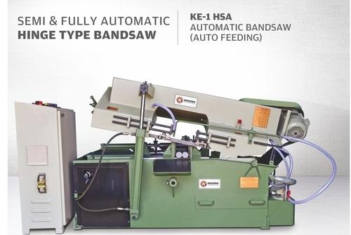 Fully Automatic Hinge Type Bandsaw Machine