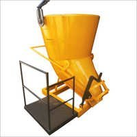 Concrete Bucket With Platform Bucket