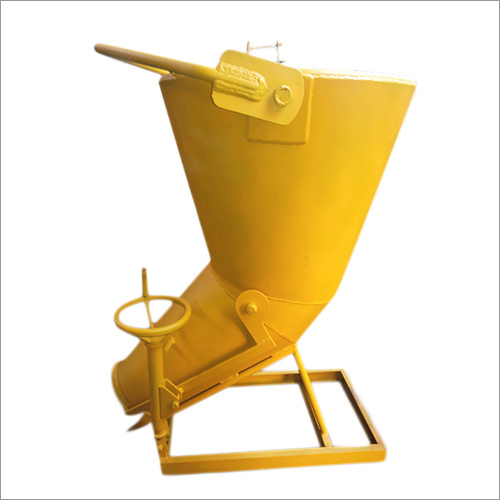 Concrete Bucket With Screw Jack