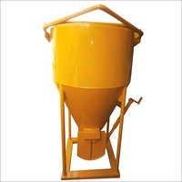 Cone Type Concrete Bucket  With Screw Jack