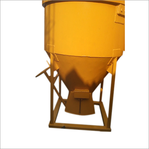 Cone Type Concrete Bucket With Pneumatic Jack