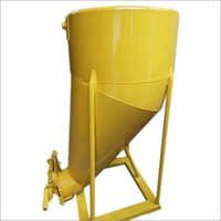Cone Type Concrete Bucket With Side Discharge