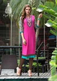 Latest Diya Kurtis Stitched