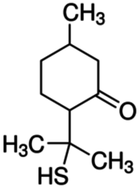 8-Mercaptomenthone