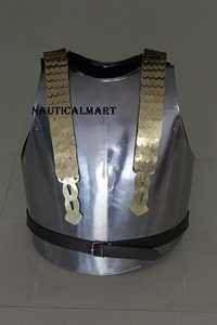 Medieval Knight Steel Armor Breastplate