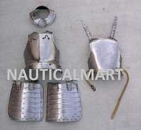 Pikman's Armour English Wer Period Breastplate Gorget And Tassets Armor