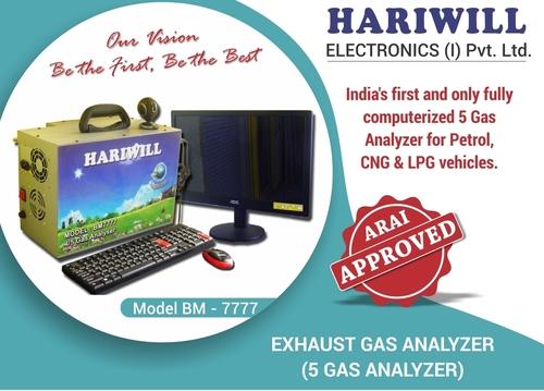 Petrol Exhaust 4/5 Gas Analyzer