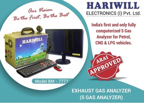 Petrol Exhaust 4/5 Gas Analyzer