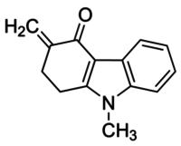 9-Methyl-3-methylene-1,2,3,9-tetrahydro-4H-carbazol-4-one