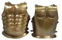 Steampunk Armor Breastplate One Size Fits Most Bronze