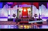 Wedding Stage Decoration Fiber Backdrop Panels
