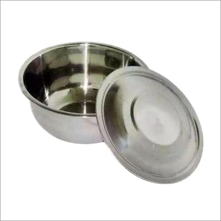 Stainless Steel Apple Bowl With Cover