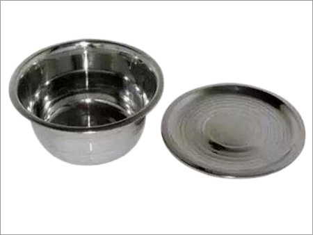 S.S Finger Bowl With Cover